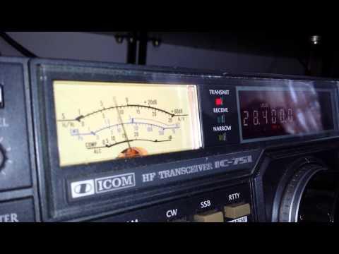 VK6VCK de M6PZZ icom 751 amateur radio dxing