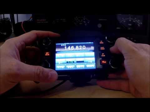 Yaesu FTM-400DR Repeater Programming