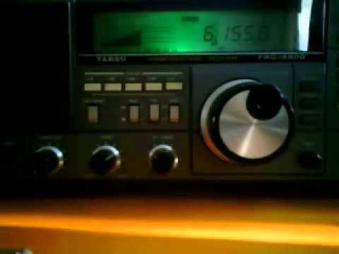 (re-uploaded) Radio Austria International on Yaesu FRG-8800