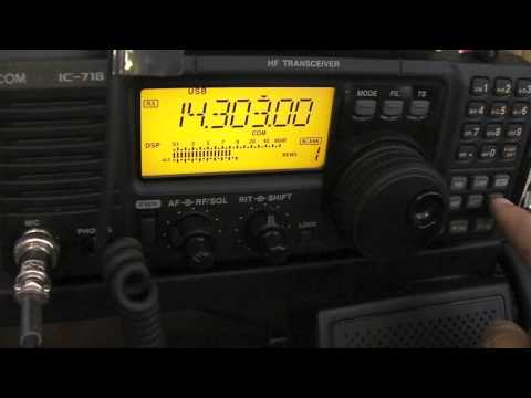 Using The LDG IT 100 Auto Antenna Tuner With The ICOM 718 Ham Radio