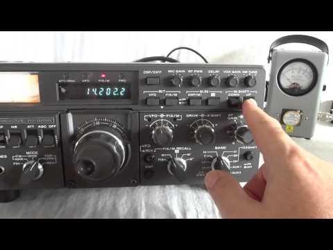 Kenwood TS 180S HF SB ham transceiver