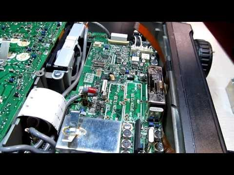 How to install optional filters in an Icom IC706MkIIG and measure them with an FFT
