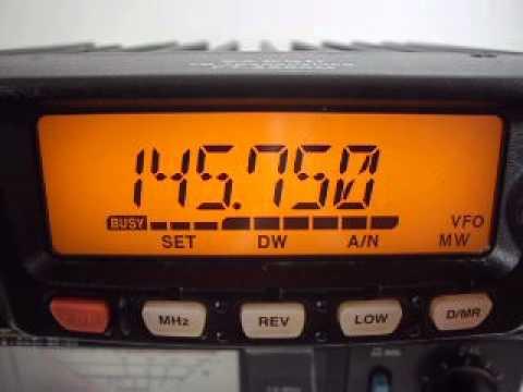 yaesu ft-2800m test (19/08/2014)