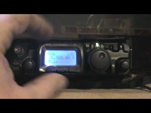 Yaesu FT-817 Defies The Laws Of Radio Physics Once Again Working Poland