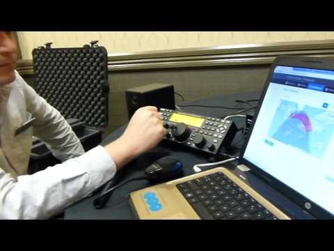 Remote Ham Radio - from Dayton Hamvention. Kevin K5KVN talks to Fabien A92HK in Bahrain