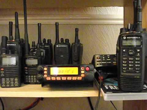 Yaesu FT7900 & Motorola DP3600 - Analogue & Digital Radio Scanning