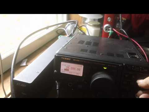 A Trip to the Tiny Prepper Cabin - Radio Time - Yo-Yo, Yaesu 897, Solar Generator