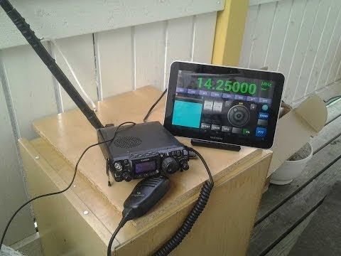 Yaesu FT-817 CAT control: Android Setup & Remote display