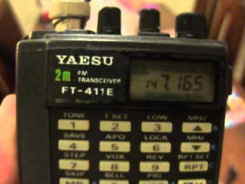 Prueba Yaesu FT411E con repetidor RC Morón