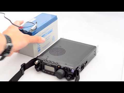 Yaesu FT817ND radio portable DC power supply