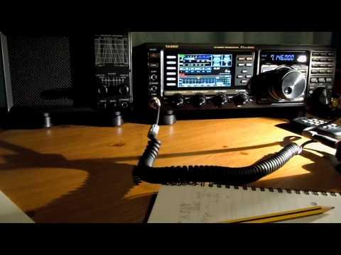 Yaesu FTDX-3000D  - M0SAZ on 40m