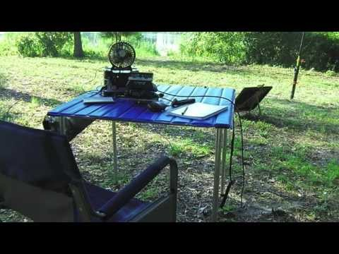 The Ultimate Roll Up QRP Table For Portable Work