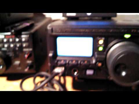 Yaesu FT-897D on N6ICW