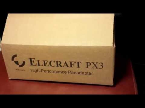 Elecraft PX3 panadapter for the KX3 - unboxing part 1 of 3