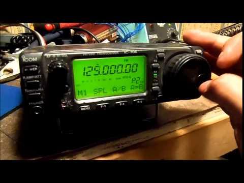 ICOM IC 706 VHF receive Sensitivity upgrade