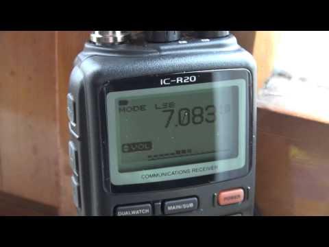 Icom IC R20