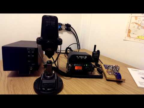 Sweet audio from Yaesu FT-817ND on 17m SSB