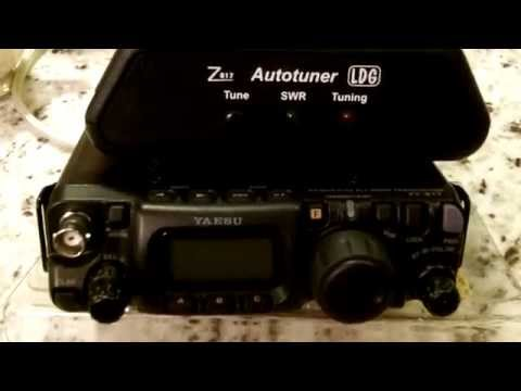 Yaesu FT-817 ND Ham Radio- Intro