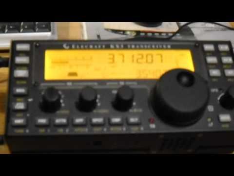 My Elecraft KX3 on 3,7MHz band