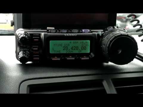 Yaesu Ft-857d Hemi mobile, Who say Ham Radio needs to be geeky?