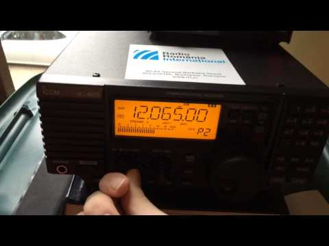 Icom R75 Receiver thoughts and Radio Australia on 25 M