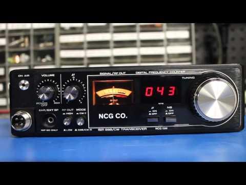 NCG 15 meter SSB / CW QRP transceiver SUPER RARE! Model# 15M