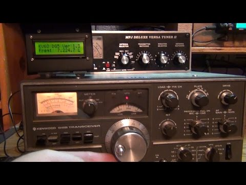 Arduino Frequency Display for Kenwood TS-520S HF ham radio PART 5
