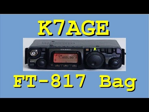 FT-817 Ham Radio Bag