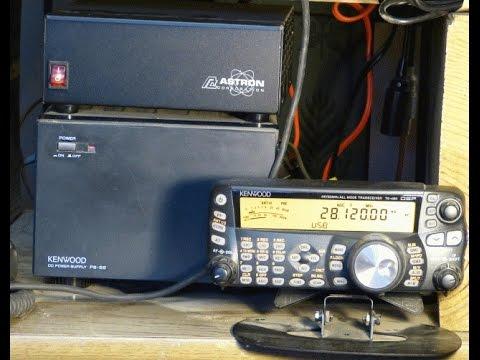 Amateur Radio Station AB3BO with a Kenwood TS-480HX