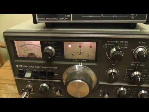 Kenwood Ham Radio.Swan Amp 1200-Z. Digital Display.