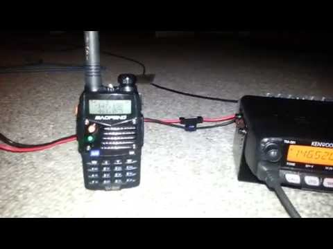 2 Meter Ham Radio Rig- Kenwood/Baofeng + N9TAX Slim Jim Antenna