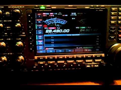 M0EDX & KB2ZPB 10 M SSB QSO