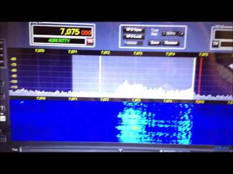 YAESU FT-5000 VS ICOM IC-7700 confronto modulazione SSB ricevuta sul Flex-1500