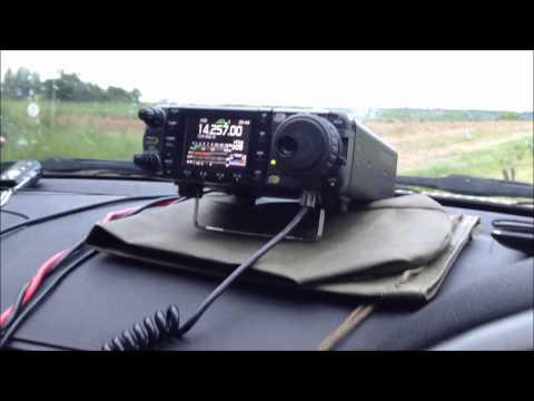 Portable QRO HF radio