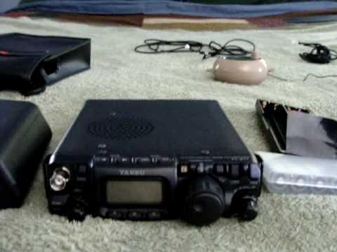 K2FR QRP backpacking gear.  Portable Yaesu FT-817