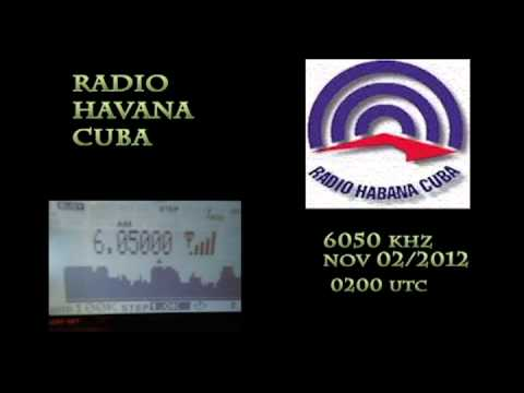 Radio Havana Cuba 6050 khz 1