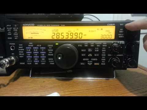 "Setting ""split"" on a Kenwood TS-590S"