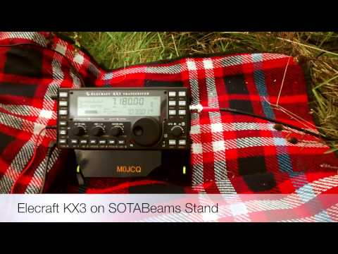 Elecraft KX3 Portable Operation (M0JCQ)