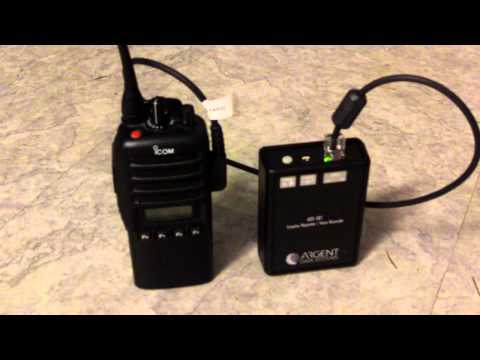 Argent Data Systems Simplex Repeater and Icom F-43GS.