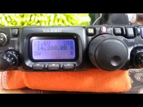 Yaesu FT 817ND  QRP Transceiver