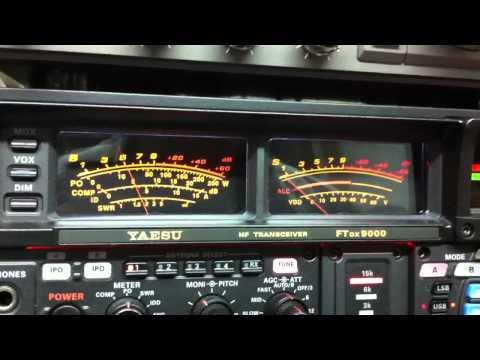 J88CG and VE3NGW HAM RADIO  YAESU FTDX-9000