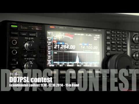 scandinavian contest 2014 Ham Radio - Icom IC-7600 - DeltaLoop