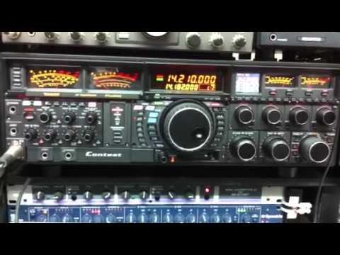 9Y4D with VE3NGW HAM RADIO  YAESU FTDX-9000