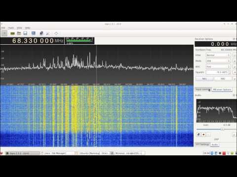 Panadapter Yaesu FT-857D RTL-SDR