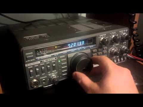 My ham radio I got for Christmas ... Kenwood ts430