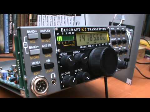 Elecraft K2 - Building Phase - Test 1