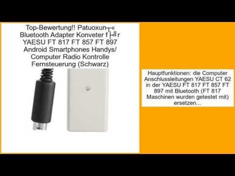 Patuoxun® Bluetooth Adapter Konveter für YAESU FT 817 FT 857 FT 897 Android Smart