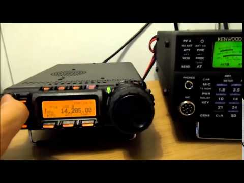 M0SAZ compares Yaesu FT-857D with Kenwood TS-590S