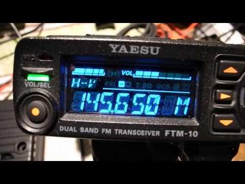 YAESU FTM-10e Crackling Filter fault