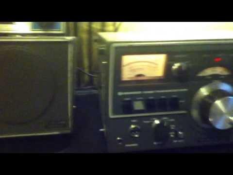 KENWOOD TS-520S DEMO  .   MARINE NET VIDEO CLIP
